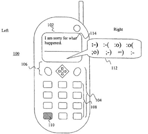 Samsung и RIM обвинили в незаконных смайлах