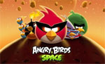 Заставка Angry Birds Space