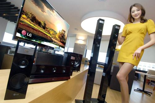 LG представила четыре системы домашнего кинотеатра