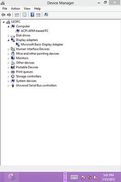Windows RT на HTC HD2. Рис. 2