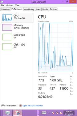 Windows RT на HTC HD2. Рис. 3