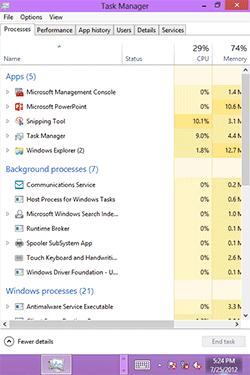 Windows RT на HTC HD2. Рис. 4