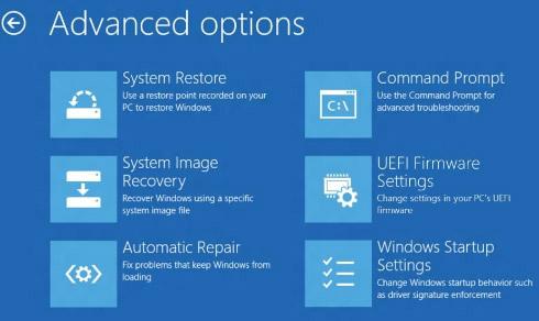Продвинутые настройки загрузочного меню Windows 8