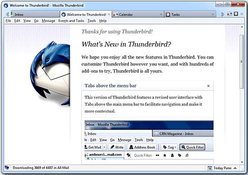 Mozilla Thunderbird 11