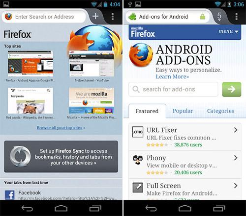 Вышел Firefox сверхбыстрый для Android