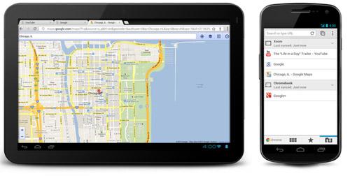 Google выпустила бета-версию Chrome для Android