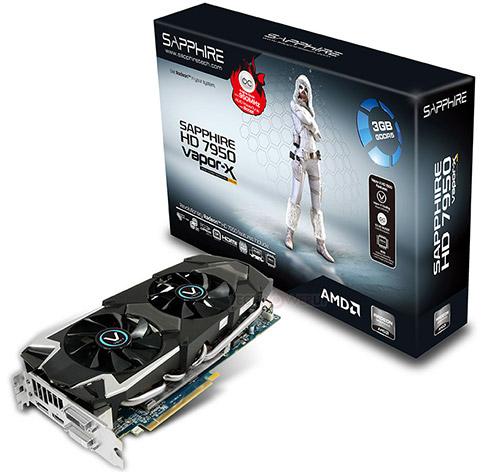 Sapphire HD 7950 Boost Vapor-X OC
