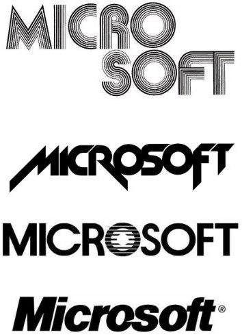 Логотипы Microsoft