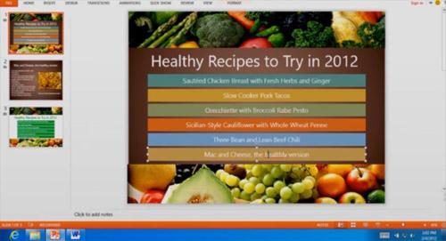 PowerPoint 15 на Windows 8 ARM