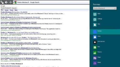 Скриншот Firefox для Windows 8
