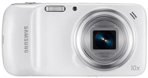 Samsung Galaxy S4 zoom. Вид спереди