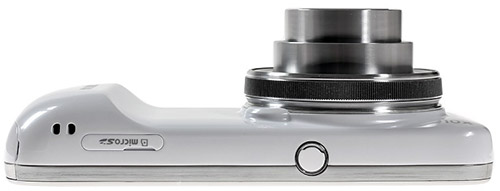 Samsung Galaxy S4 zoom. Вид снизу