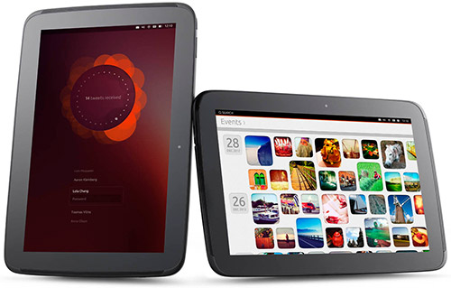 Вышла Ubuntu для планшетов