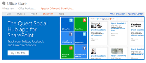 В Office Store уже 200 программ
