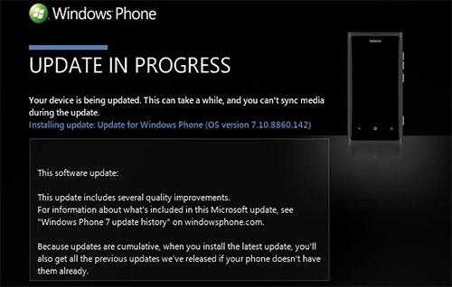 Windows phone 7.8 вновь распространяется