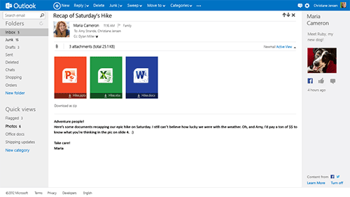 Microsoft открыла Outlook.com и закрыла Hotmail