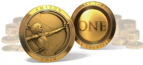 Amazon Coins – новая виртуальная валюта