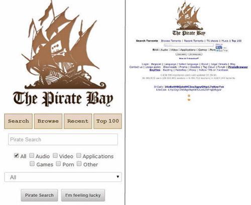 The Pirate Bay обновил мобильную версию