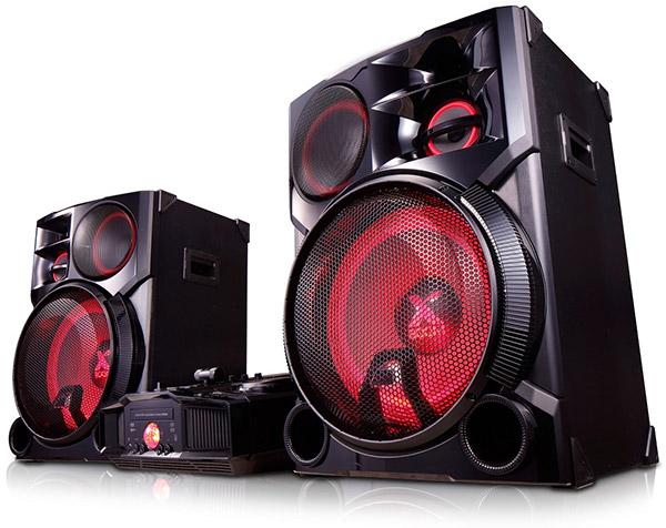LG XBoom CM9960: мощный звук и беспроводные технологии подключения
