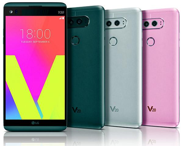 LG V20 выводит мультимедиа на новый уровень