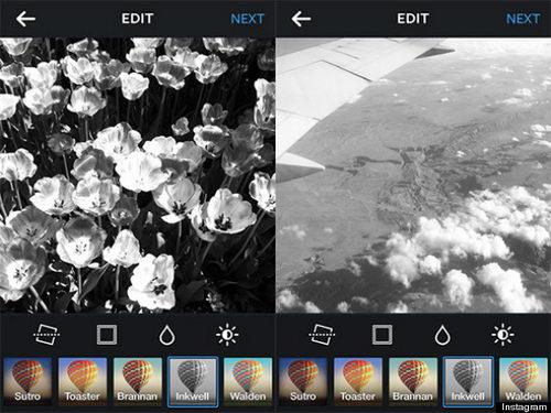 Фильтр Inkwell в Instagramm может свидетельствовать о депрессии