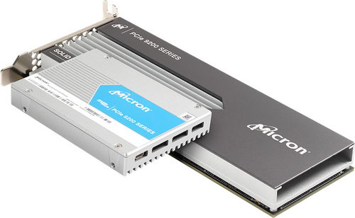 Micron 9200 SSD имеет скорость чтения до 5,5 Гбайт/с