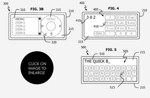 Apple запатентовала iPhone nano