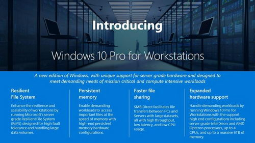 Microsoft выпустила Windows 10 Pro для рабочих станций