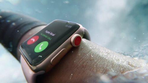 Часы Apple Watch Series 3 получили поддержку сотовой связи
