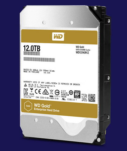Western Digital WD Gold 12 Гбайт