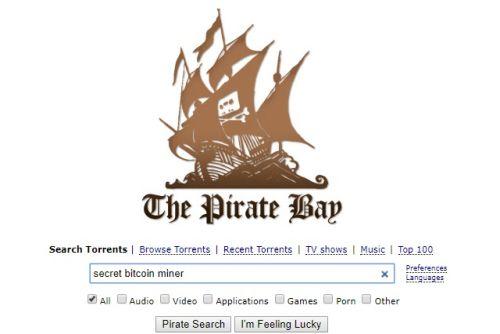 The Pirate Bay внедрил вирус для добычи криптовалюты