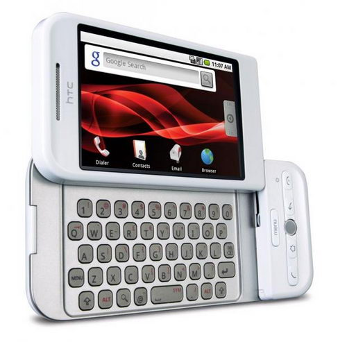 HTC Dream на базе Android 1.x
