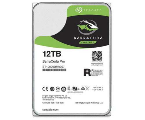 Seagate BarraCure Pro емкостью 12 Тбайт