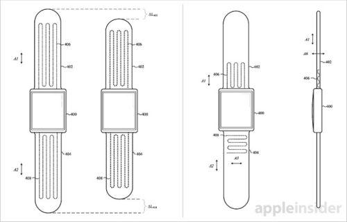 Apple запатентовала самозатягивающиеся ремешки для часов
