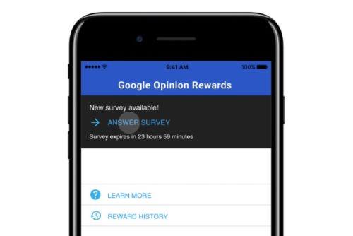 Пользователи iPhone могут зарабатывать на опросах Google