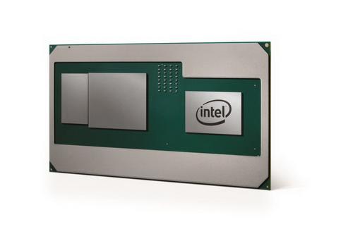 Мобильный процессор Intel Core с графикой AMD