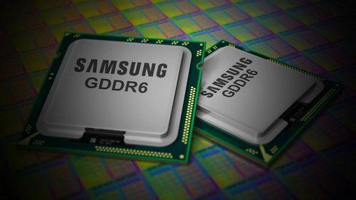 Память Samsung GDDR6