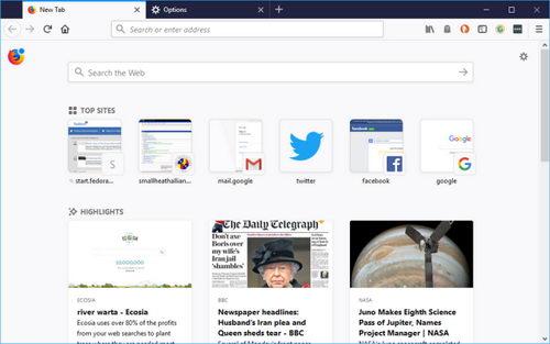Molzilla выпустила Firefox 57