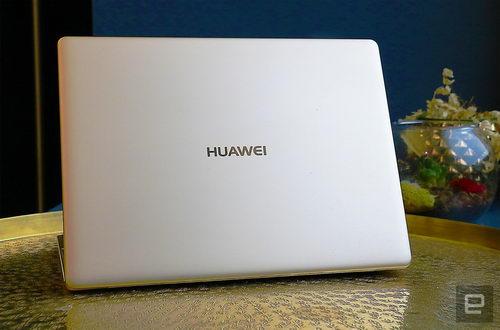 Лэпто Huawei MateBook X похож на MacBook
