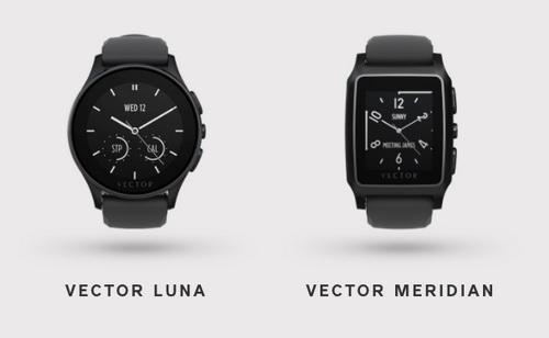 Часы Vector, компании которую покупает Fitbit