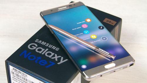 Samsung перевыпускает Note 7