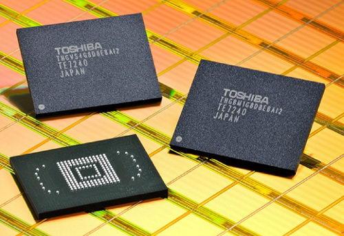 Toshiba анонсировала сверхплотную флеш-память