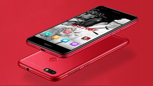 Смартфон KFC и Huawei