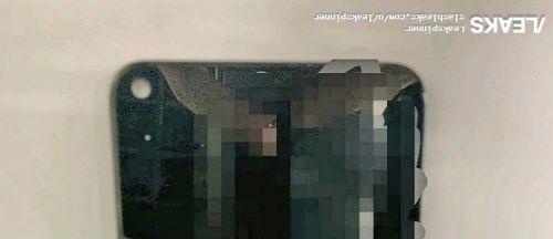 Дырявый дисплей Infinity-O показался на фото