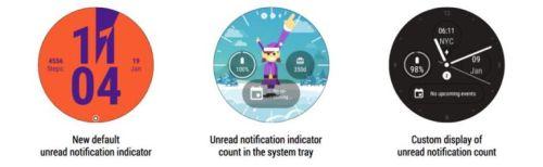 Android Wear получит индикатор уведомлений
