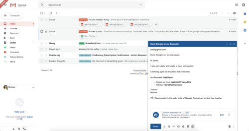 Gmail позволит отправлять самоуничтожающиеся письма