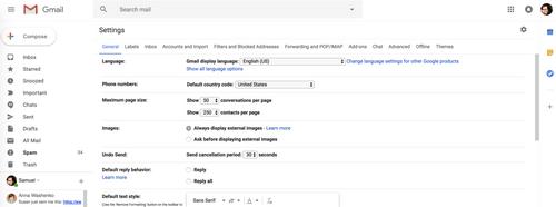 Новый Gmail