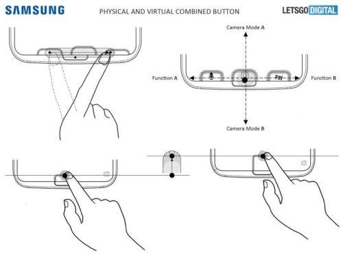Samsung запатентовала подэкранный дактилоскоп