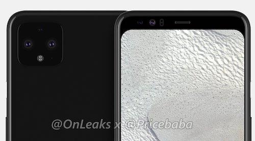 Pixel 4 получит двойную фронтальную камеру