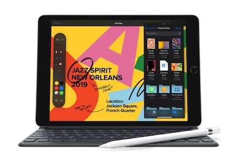 iPad 7-го поколения поддерживает Apple Pencil и Smart Keyboard